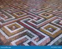 Mosaic Floor Stock Photo - Image: 40140816