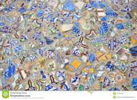 Mosaic tiles floor design stock image. Image of fashioned ...