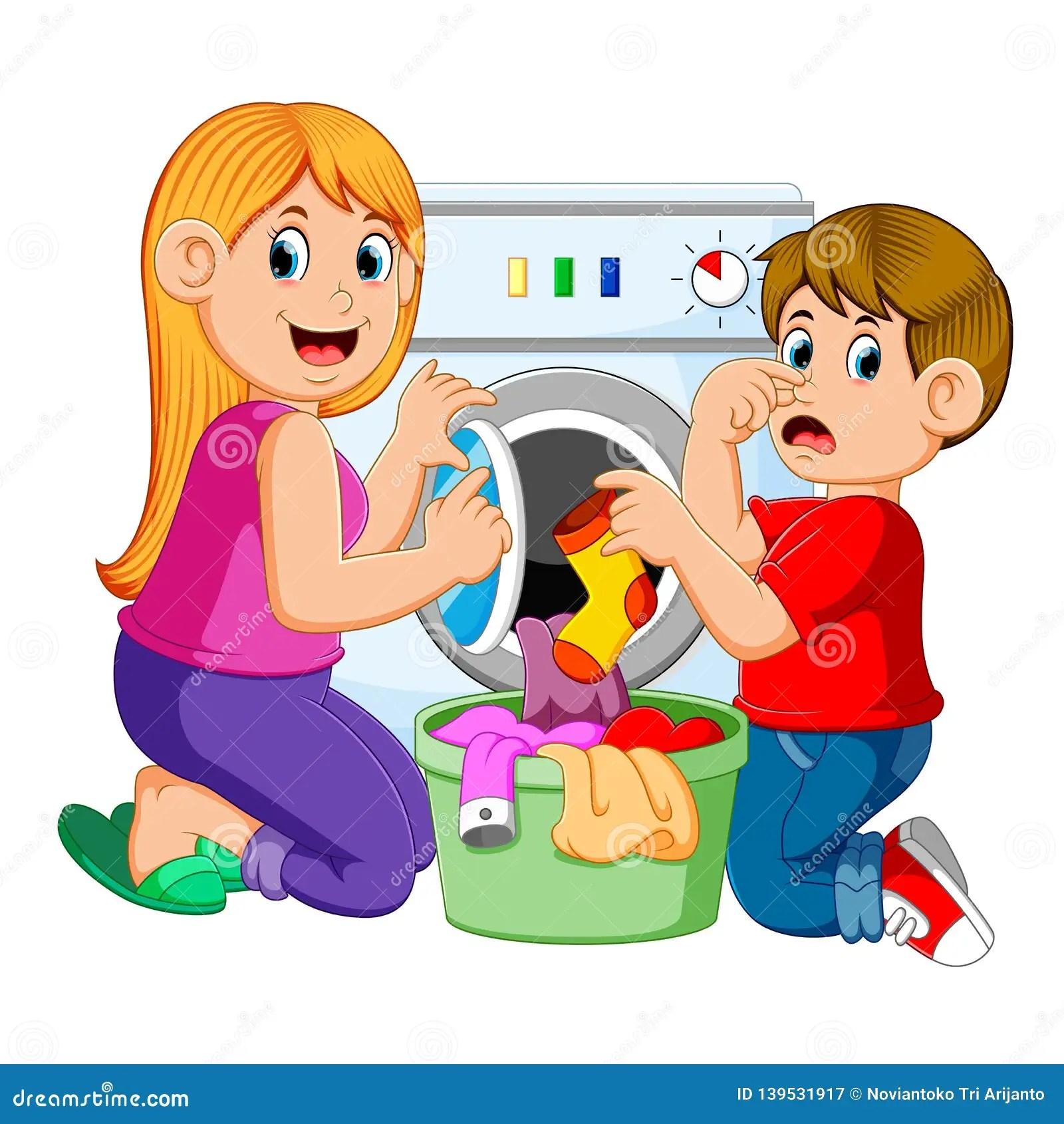 Doing Laundry Worksheets