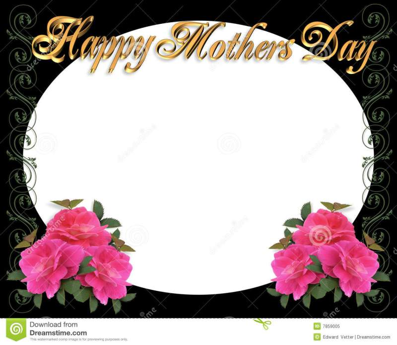 Happy Mothers Day Pictures Frame | Coloringsite.co
