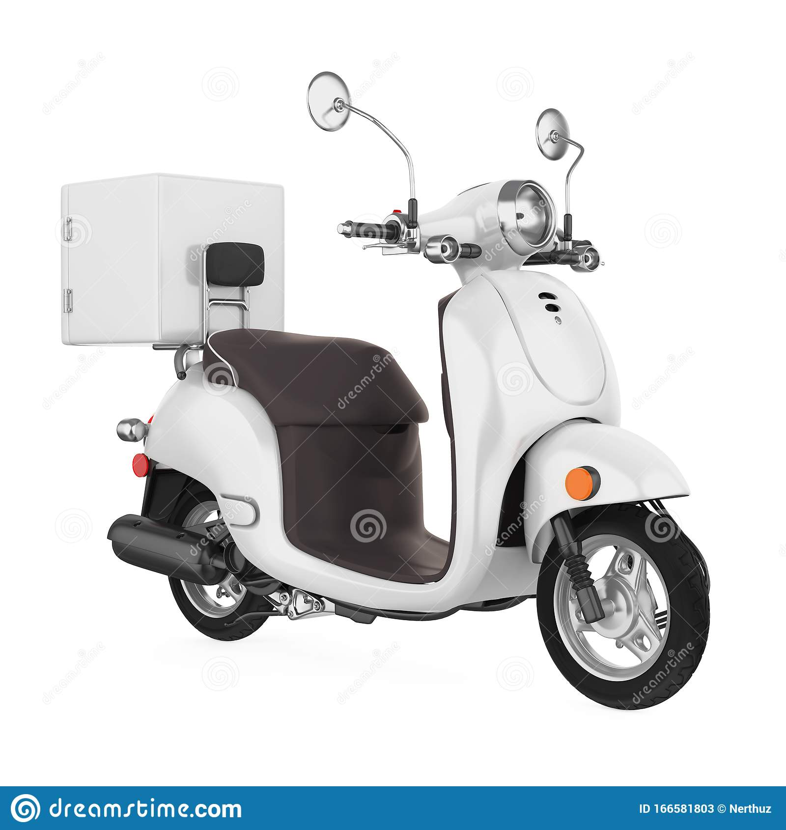 Download in psd ai and cmyk mode. Motorcycle Delivery Box Isolated Stock Illustration Illustration Of Isolated Side 166581803