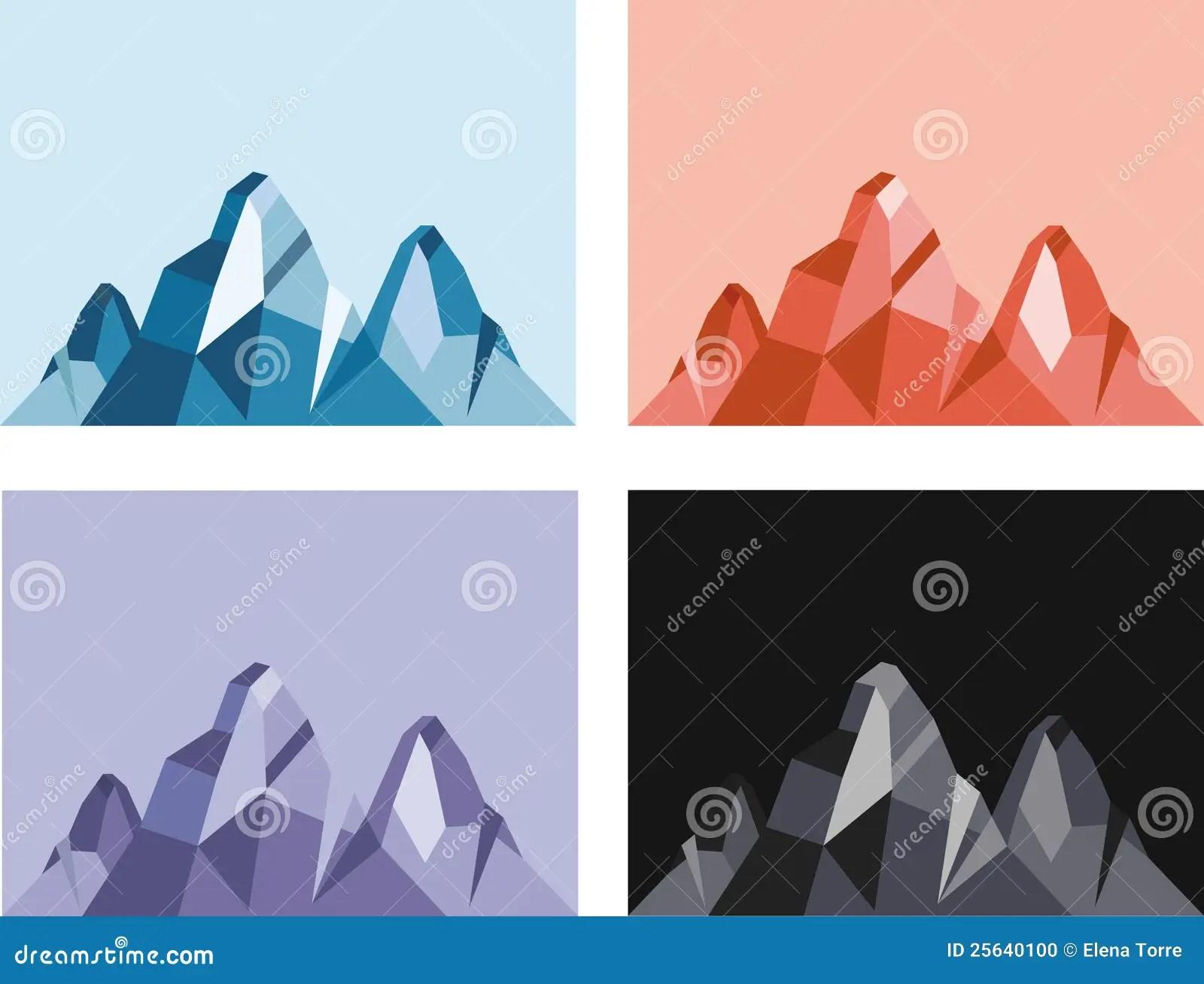 Mountain Vector Stock Photo Image 25640100
