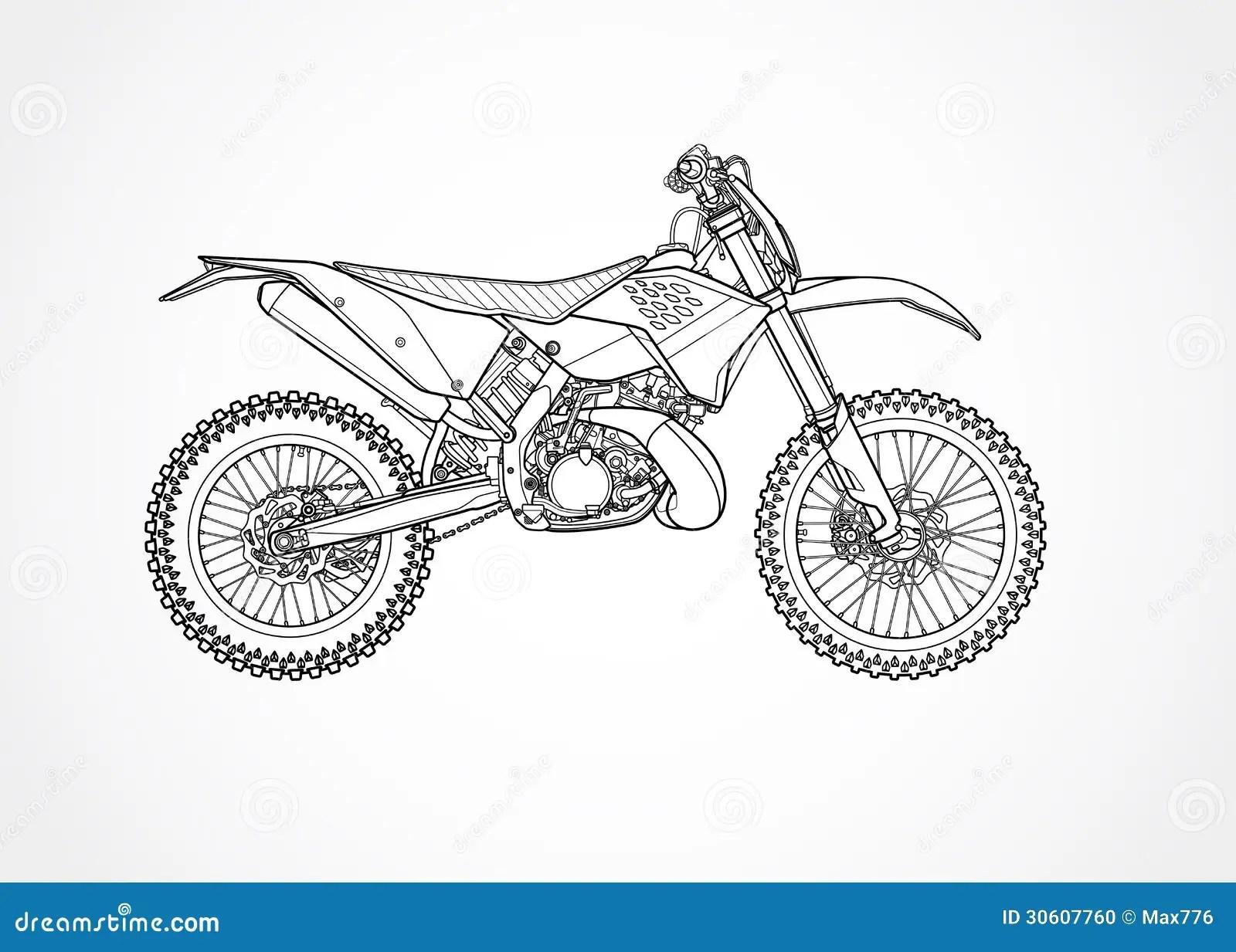 Mountain Bike Vector Stock Photo Image 30607760