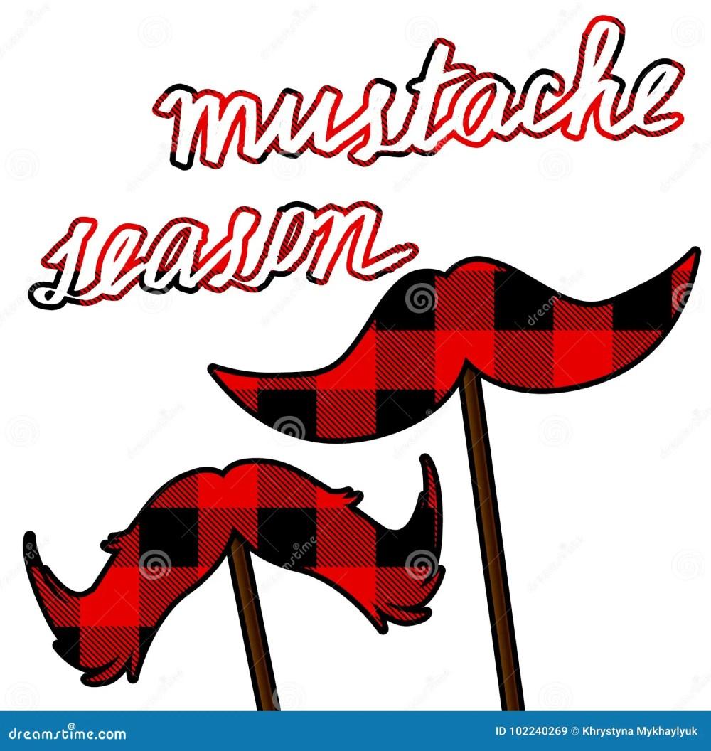 medium resolution of movember moustache card with lumberjack pattern mustache season vector clipart