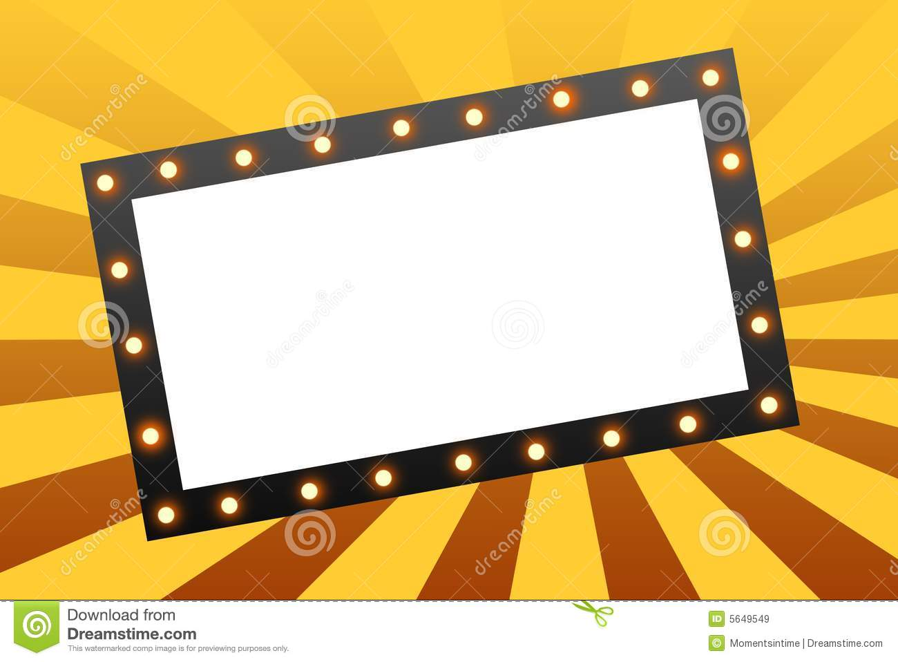hight resolution of movie marquee blank movie marquee sign on star burst background royalty free illustration