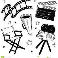 Desk Chair Office Max Home Goods Movie Set Objects Vector Stock Vector. Illustration Of Routine - 22724735
