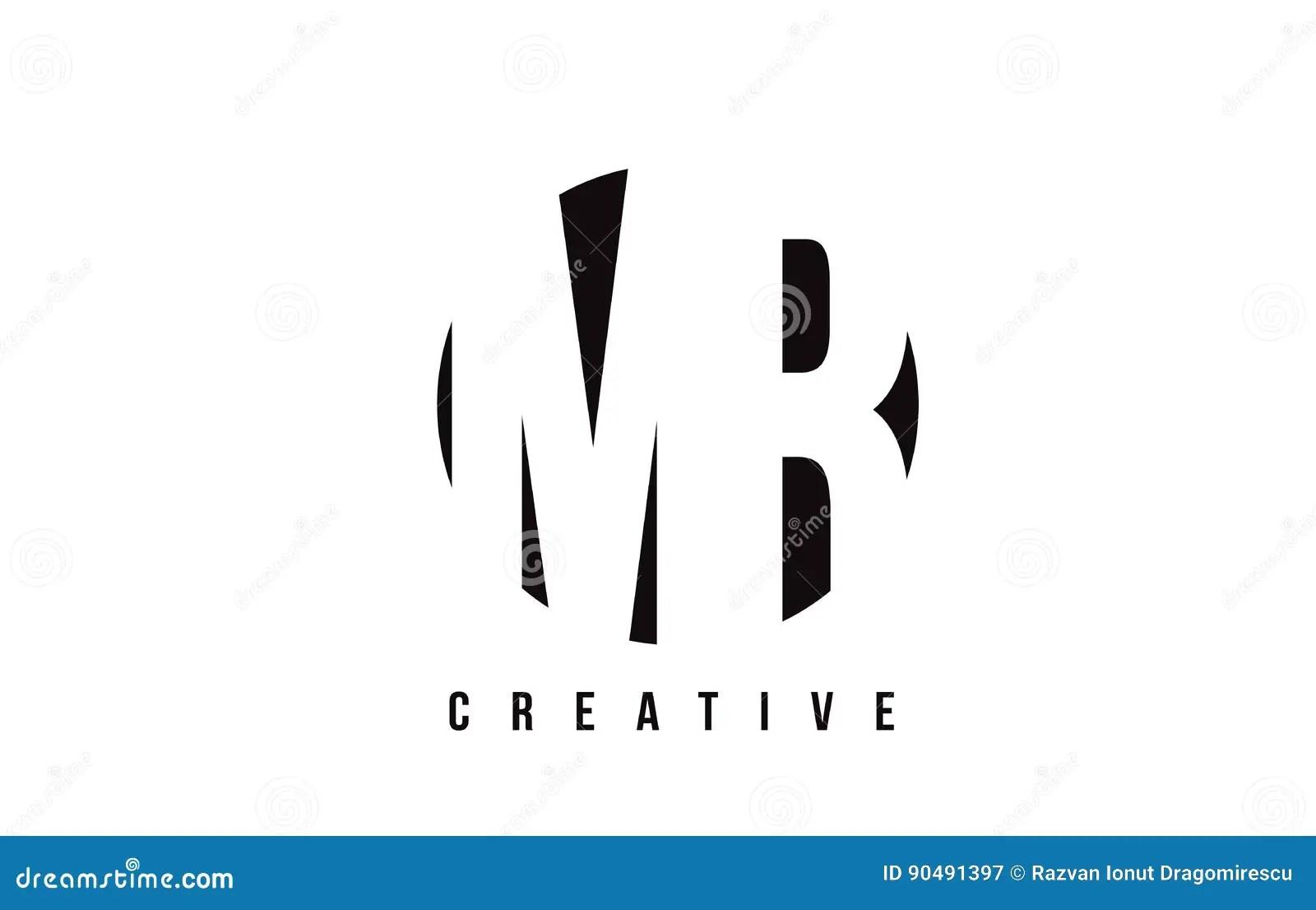 Mr M R White Letter Logo Design With Circle Background
