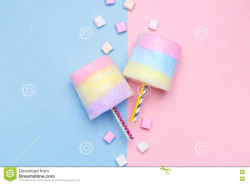 small resolution of multicolored cotton candy pastel marshmallows minimal style pastel background