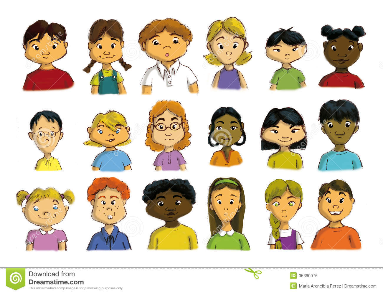 Multicultural Children Royalty Free Stock Image