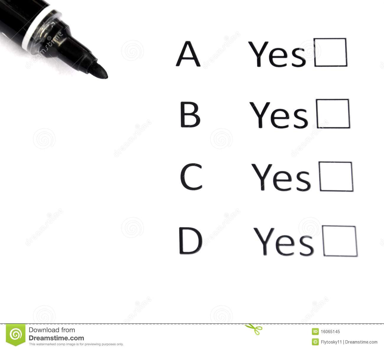 Multiple Choice stock image. Image of life, picking