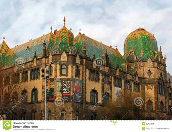 Museum of Applied Arts Budapest Hungary