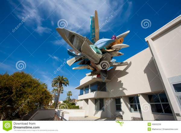 Museum Of Contemporary Art San Diego Editorial Stock