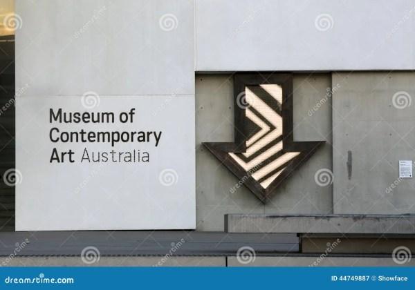 Museum Der Zeitgenssischer Kunst Sydney Redaktionelles