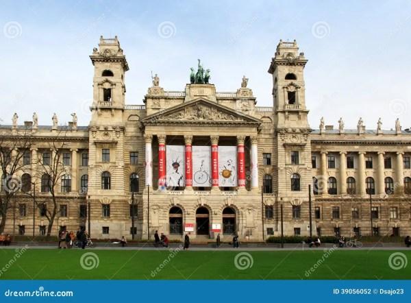 Museum Of Ethnography Kossuth Square Budapest Editorial - 39056052