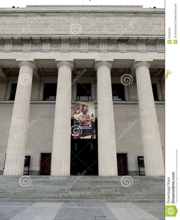 Museum Facade With Classical Columns Editorial