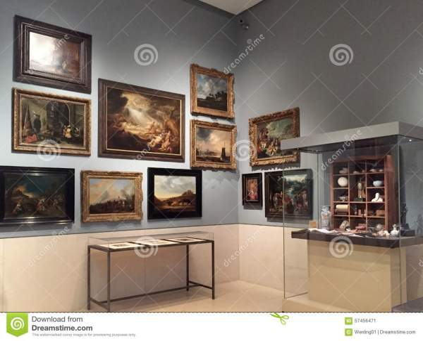 Museum Of Fine Arts Houston Interior Editorial - 57456471