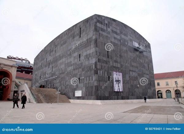 Museum Of Modern Art Vienna Austria. Editorial