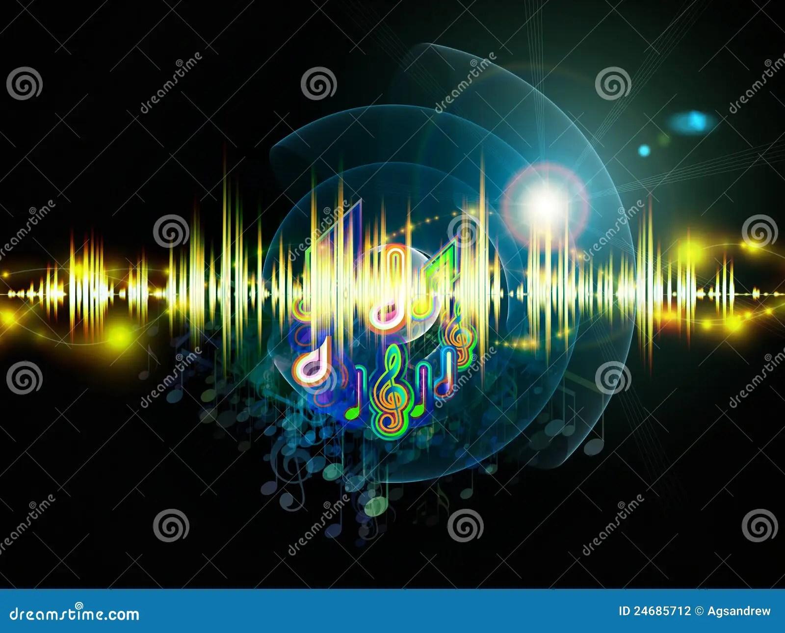 Music Lights Stock Photography  Image 24685712