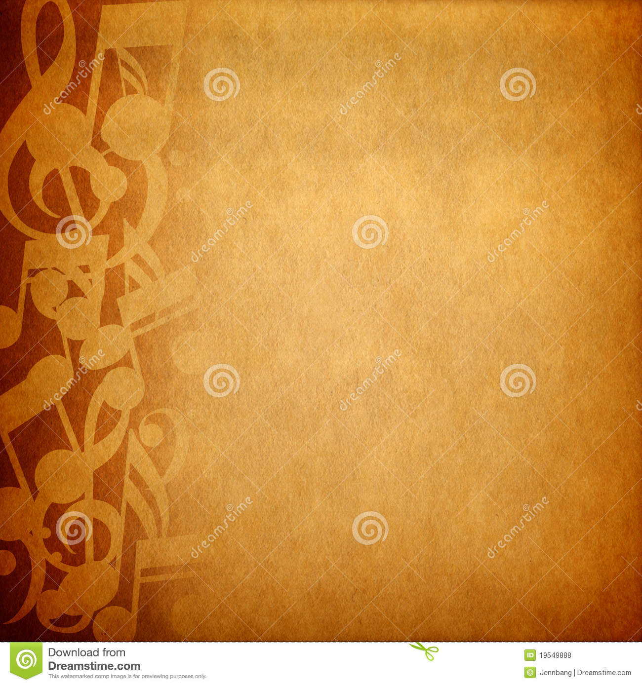 Fall Powerpoint Wallpaper Music Note Background Stock Photo Image Of Abstract