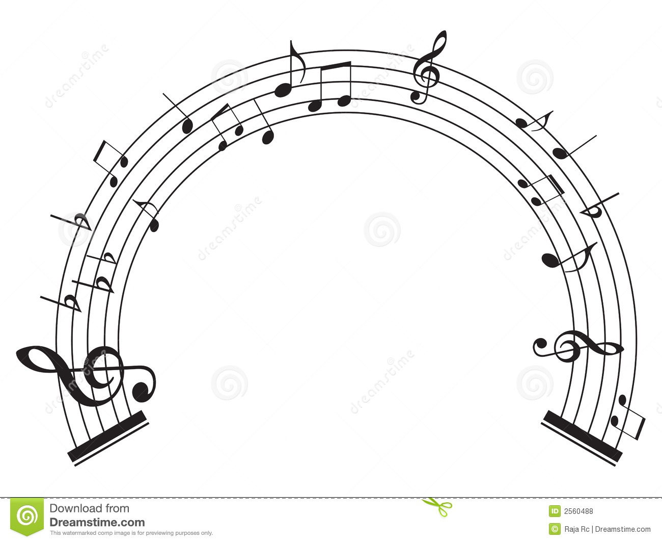 Music notes stock vector. Image of note, song, beat, logo