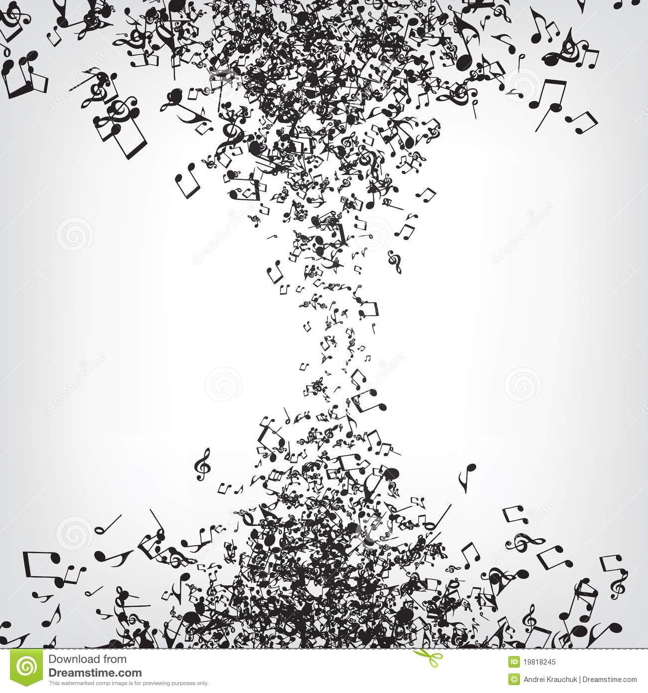 Music Notes Texture Royalty Free Stock Photo - Image: 19818245