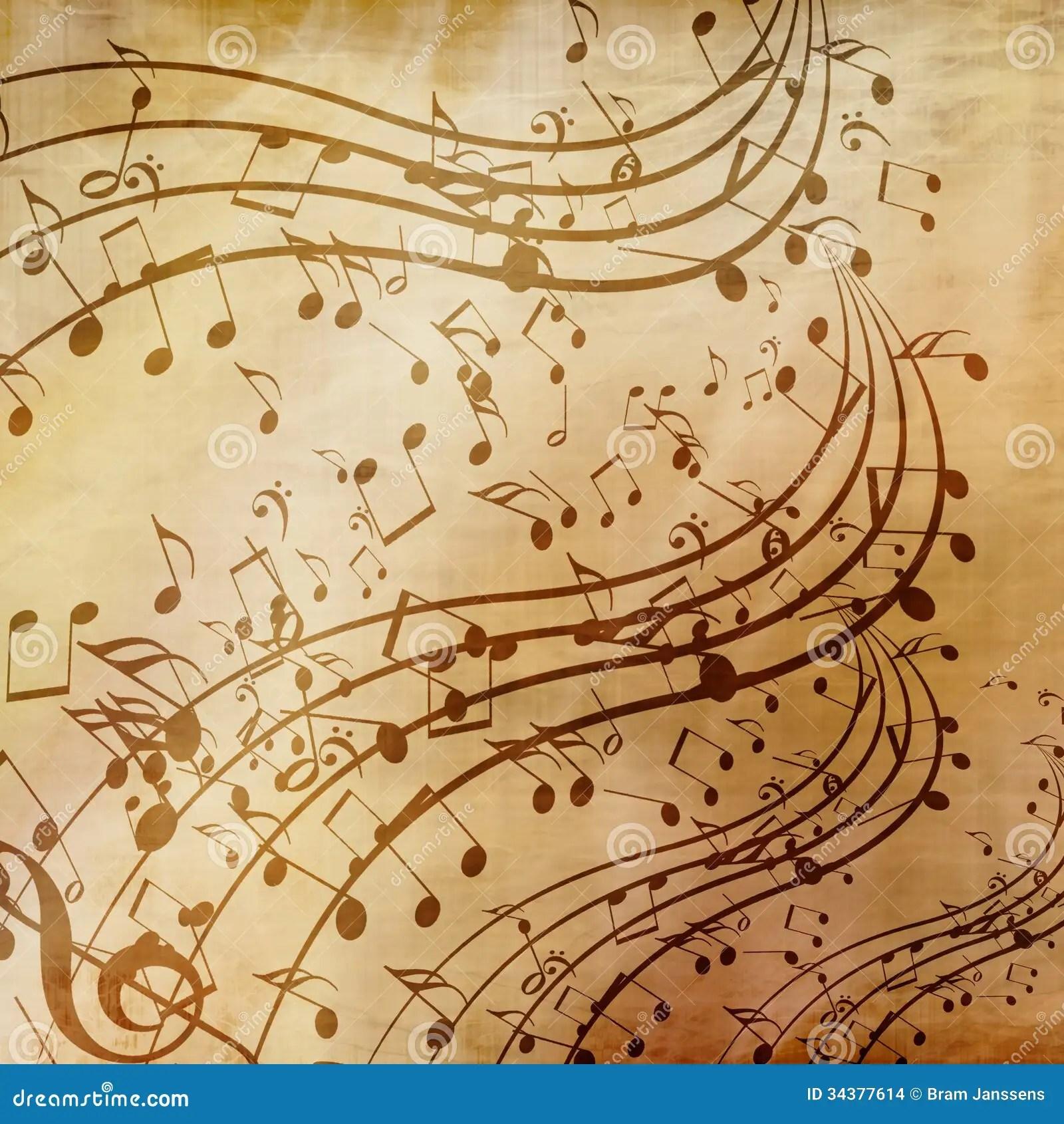 Music Sheet Stock Images - Image: 34377614