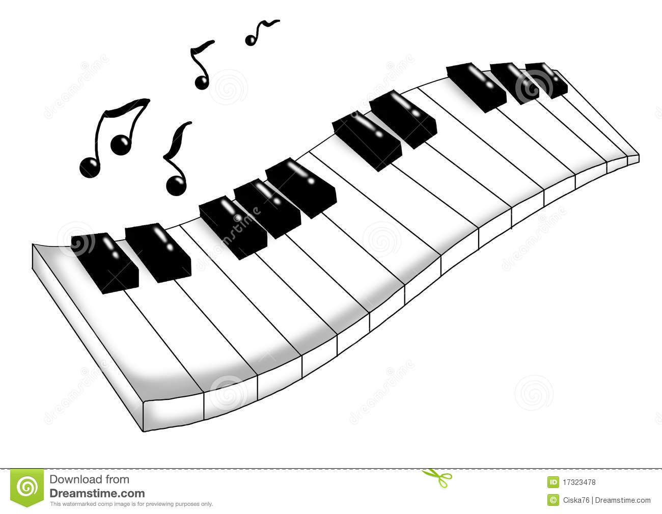 Musical Keyboard Royalty Free Stock Photos