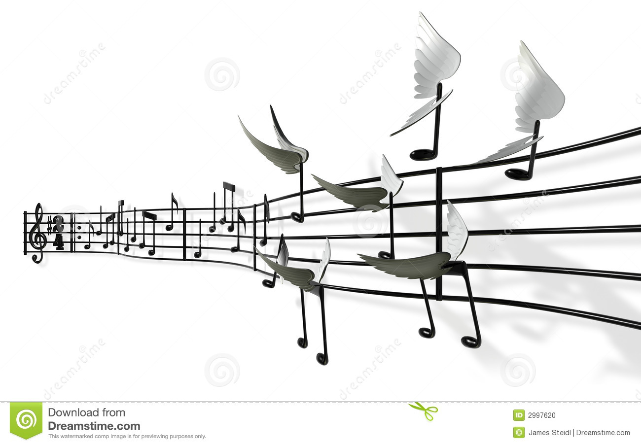 Musical Notes stock photo. Image of freedom, note, musical