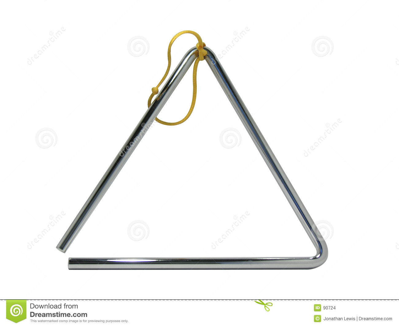 Musical Triangle Stock Photo Image Of Metal Music Steel