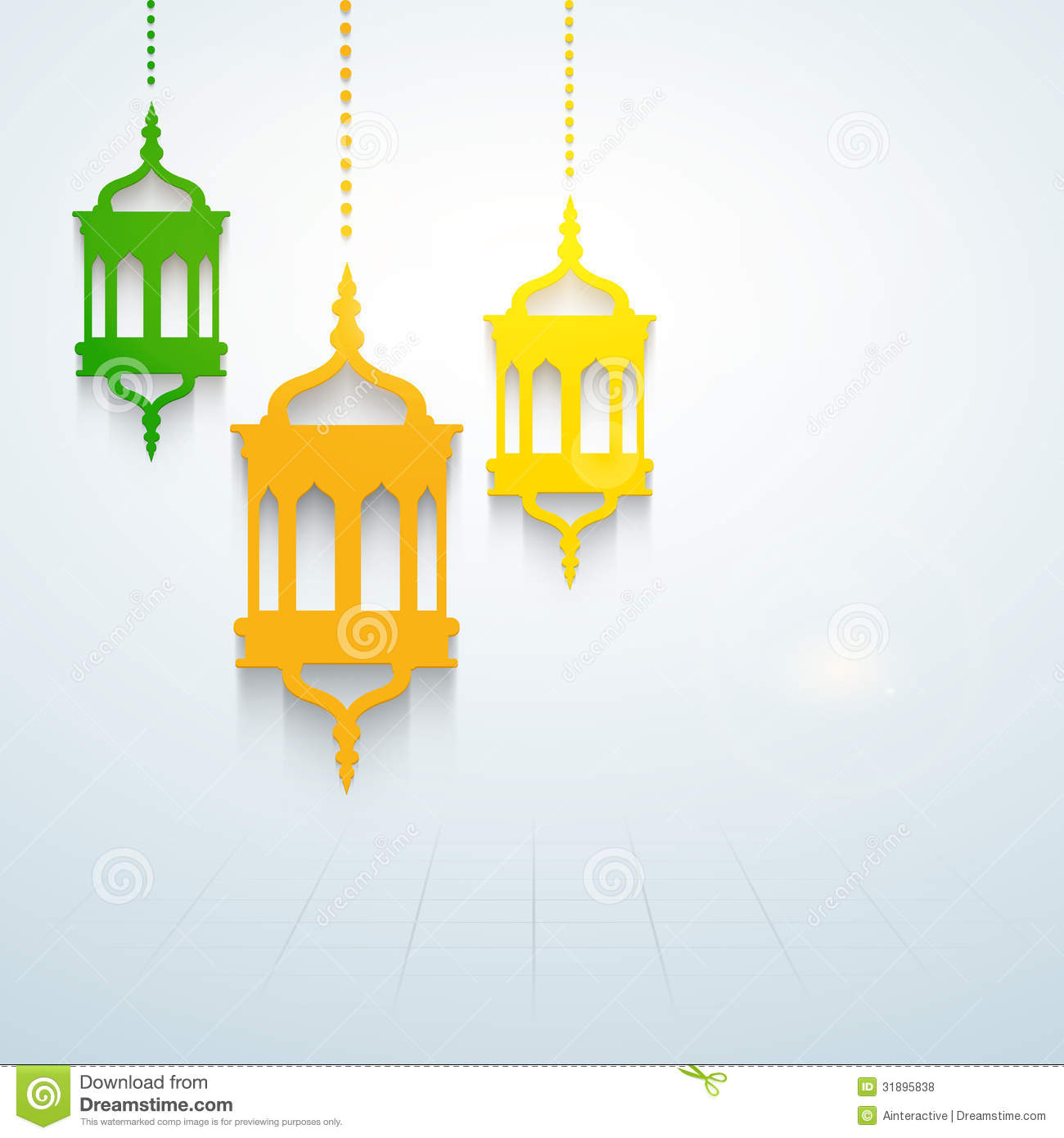 Muslim Community Holy Month Of Ramadan Kareem Stock