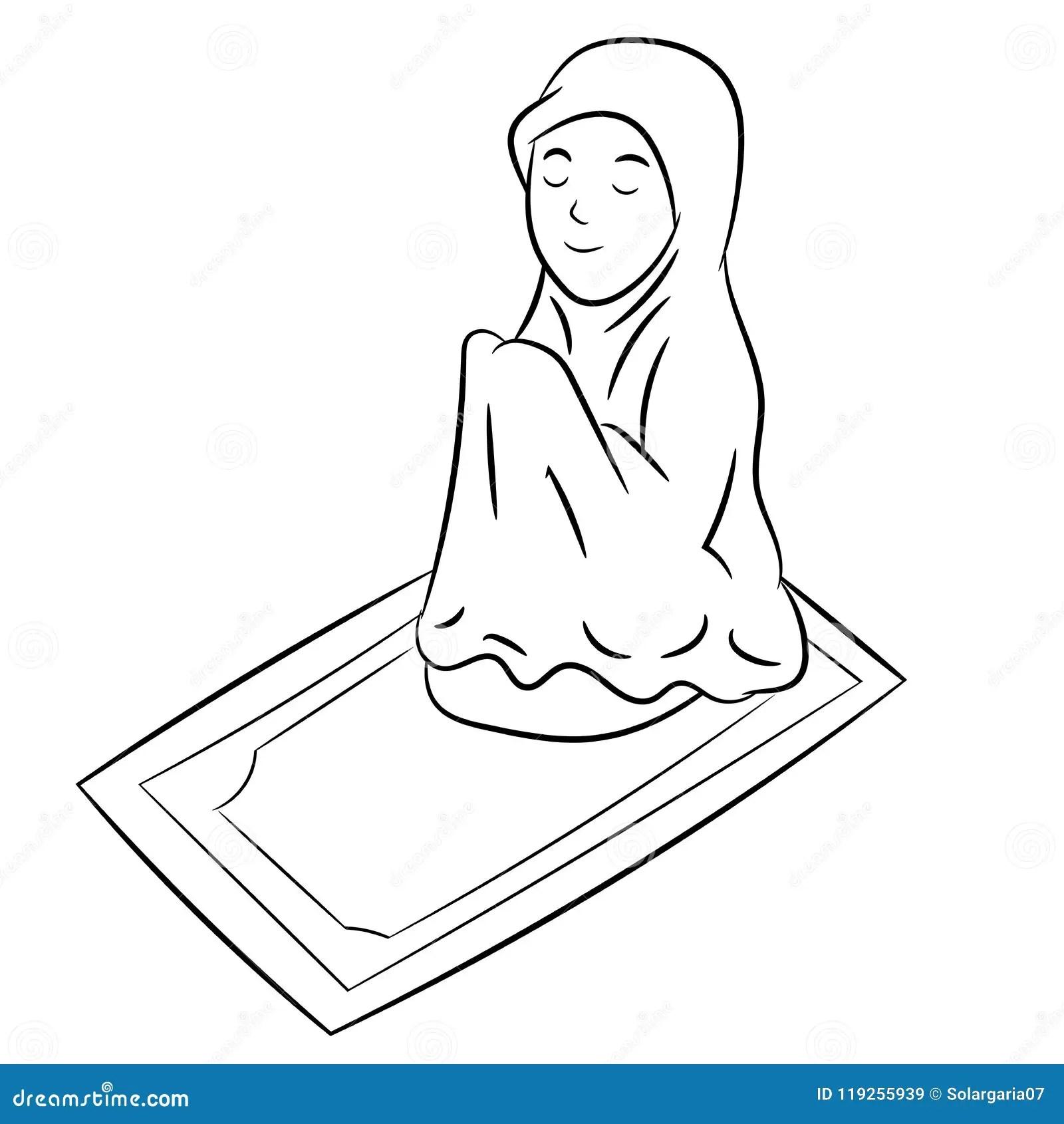 Muslim Praying Stock Illustrations 2 178 Muslim Praying