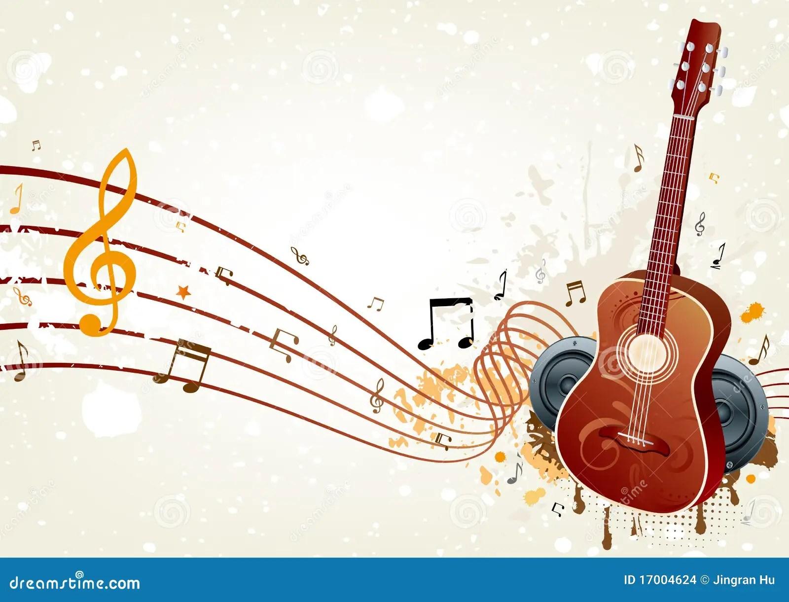 Muziek Achtergrond Stock Afbeeldingen  Afbeelding 17004624