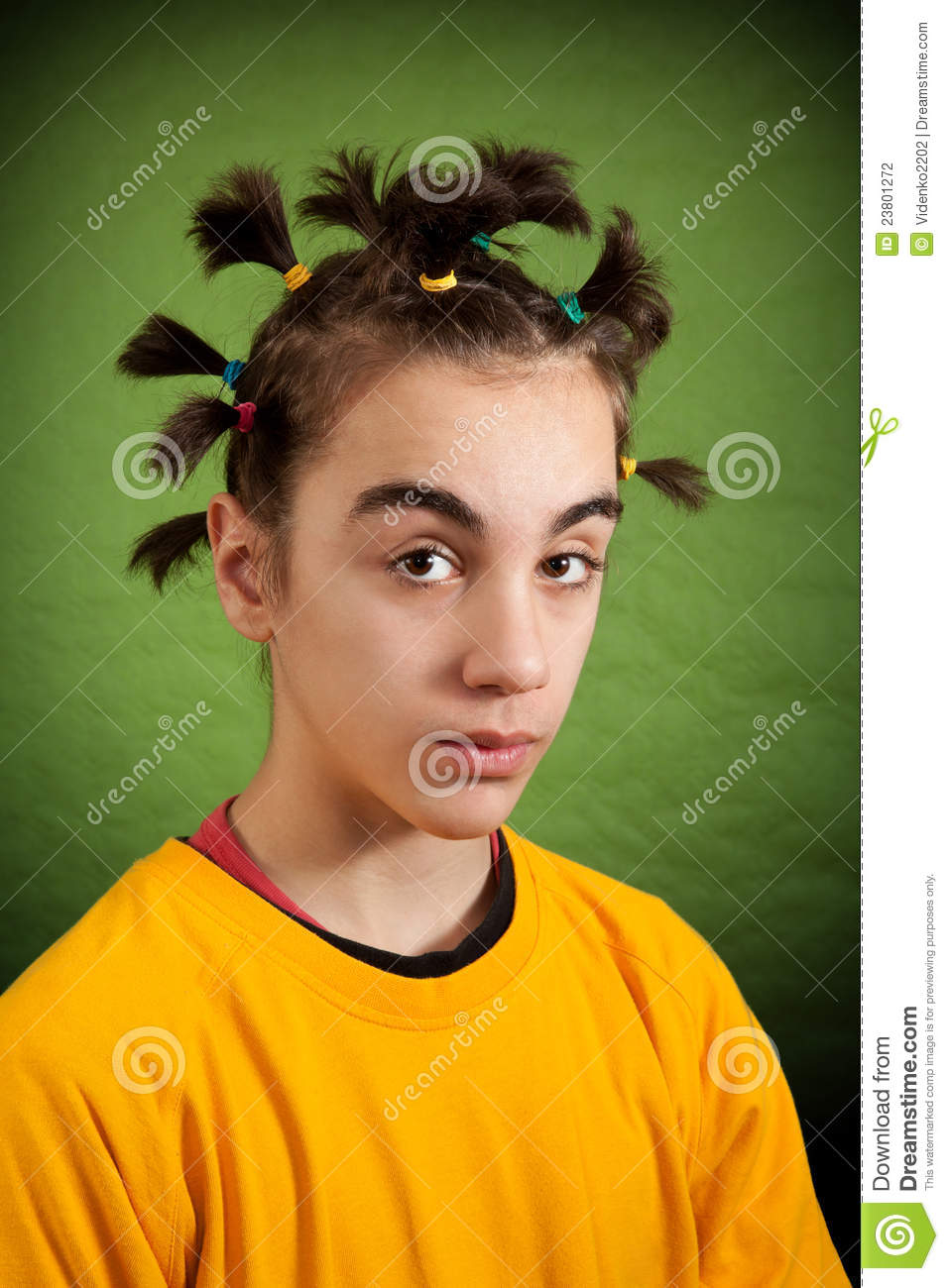 My New Hairstyle Stock Photography  Image 23801272