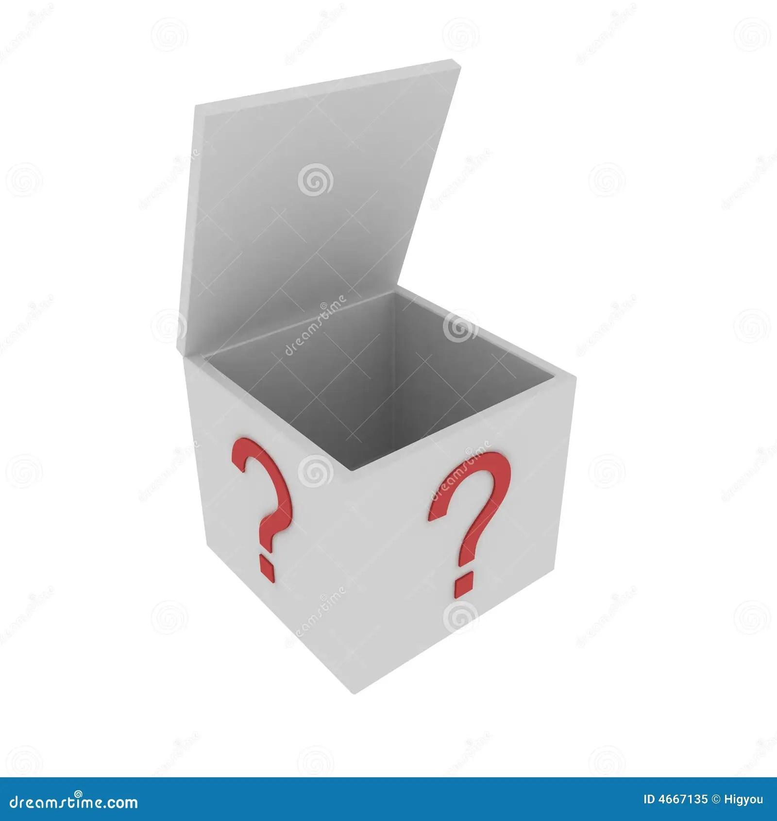 Mystery Box Royalty Free Stock Photo Image 4667135