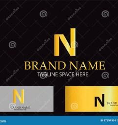 n letter logo design vector [ 1300 x 1008 Pixel ]