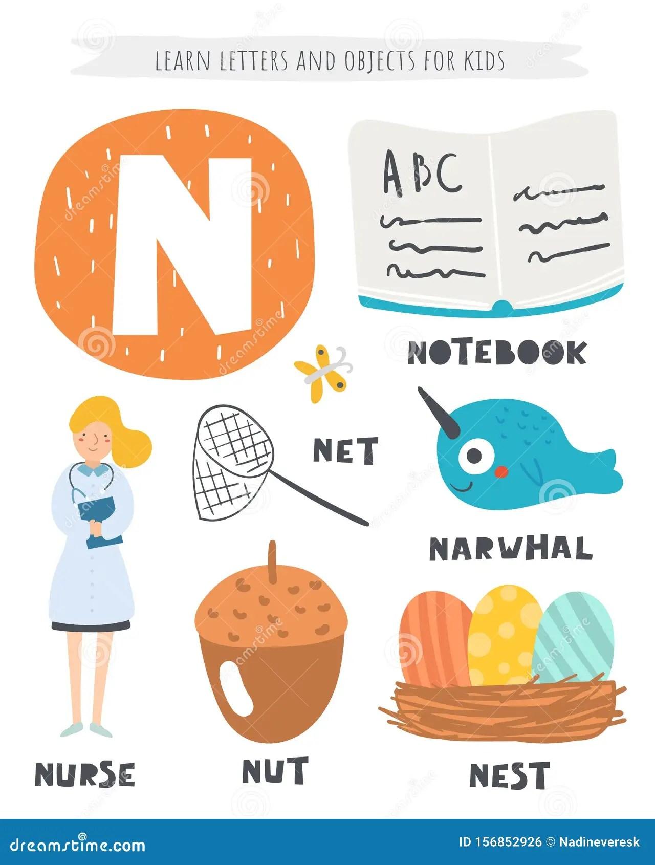 N Alphabet Words