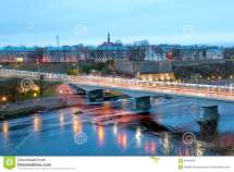 Narva Estonia. Bridge Of Friendship Editorial