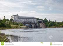 Narva Hydroelectric Station Stock - 62413743