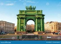 Narva Triumphal Gate Editorial - 64188421