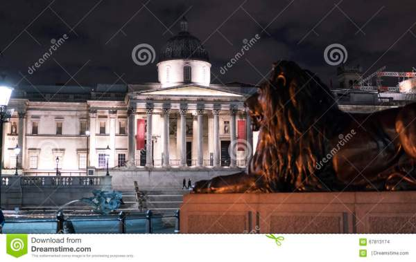 National And Lions Trafalgar Square London