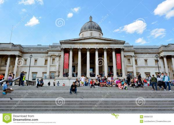 National London - England United Kingdom Editorial Stock 56056723
