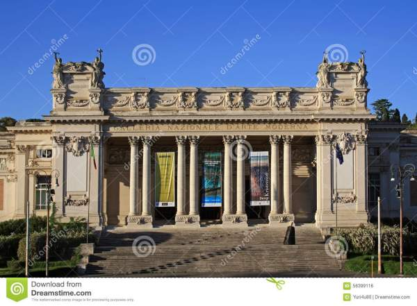 Facade Of Classical Buildings In Rome Italy Royalty-free Stock #87434860