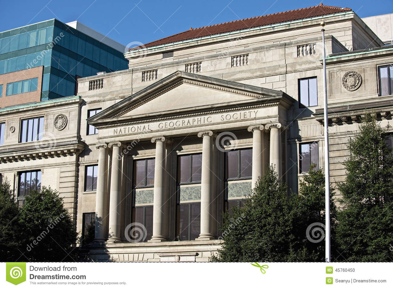 National Geographic Society S Administration Building In