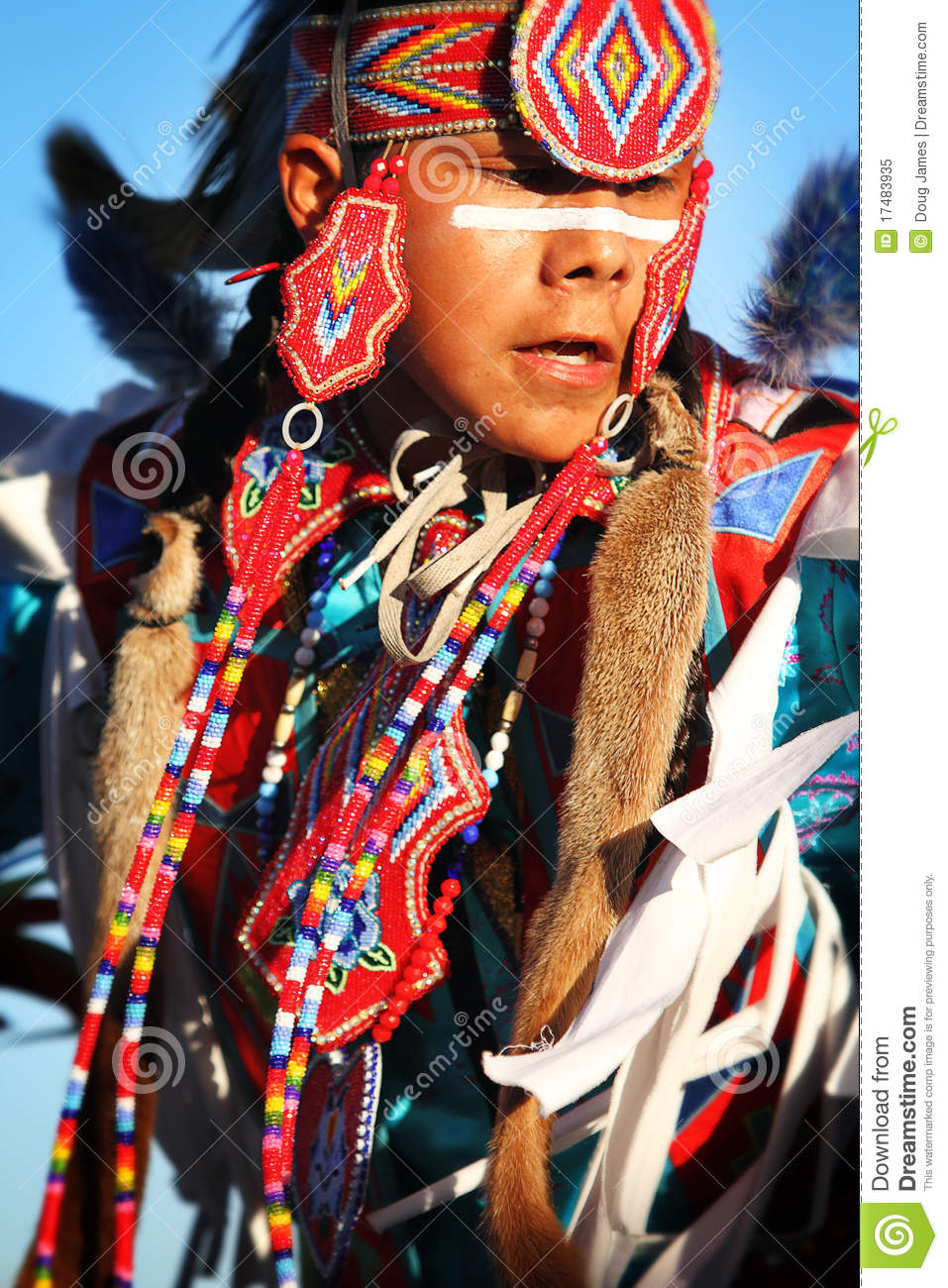 Native American Dancers editorial image Image of pima