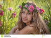 natural beauty and health woman
