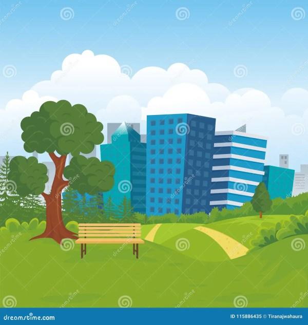 natural landscape city park