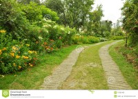 Nature Path With Garden Stock Photos - Image: 31302463