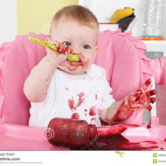 Baby Eating Chair Covers For Sale Johannesburg Naughty Alone Stock Photo - Image: 48866252