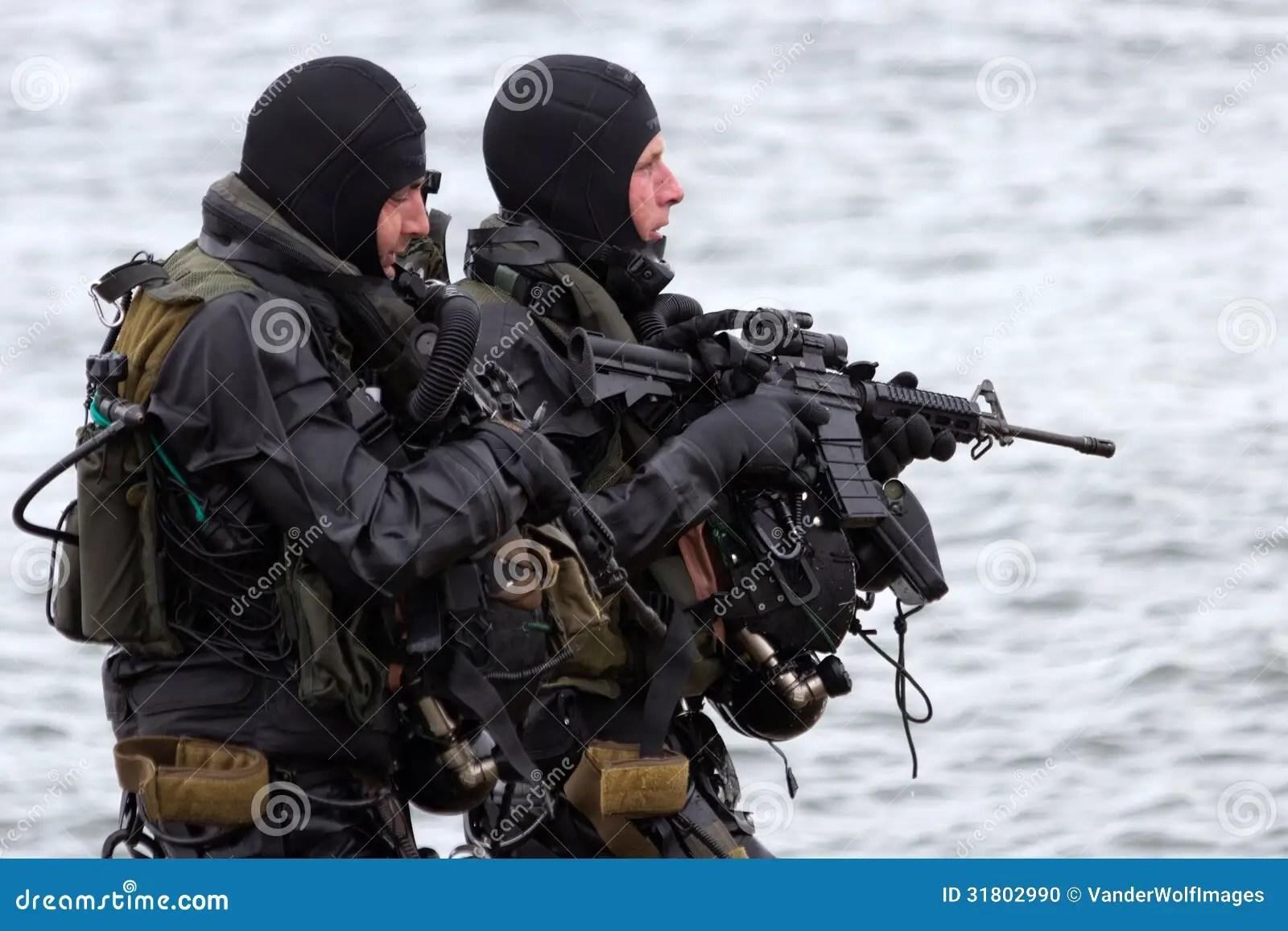 navy seals editorial image