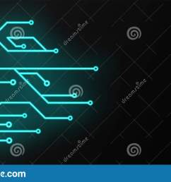 circuit board sign icon technology scheme square symbol vector illustration glowing [ 1600 x 937 Pixel ]